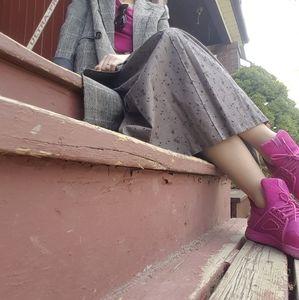 Size 8 Fuchsia-coloured Aldo Sneakers